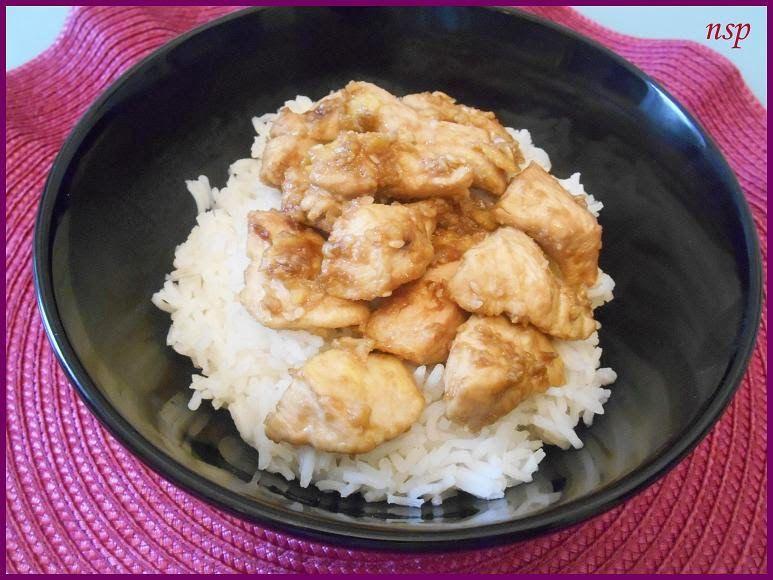 Pollo in salsa di soia e semi di sesamo su letto di riso basmati - Ricette di non solo pasticci