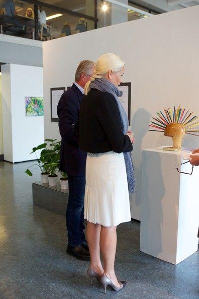 La princesa Mette Marit visita la exposición Caleidoscopio - 17/9/2014