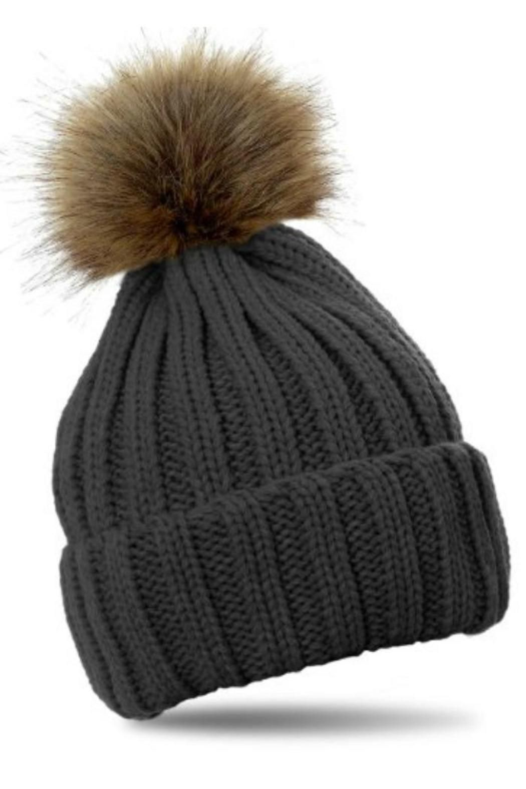 23d53a457548e Pom Pom is detachable to wash hat. One-size. Pom Pom Hat by PInk Pineapple.  Accessories - Winter Accessories Accessories - Hats Massachusetts