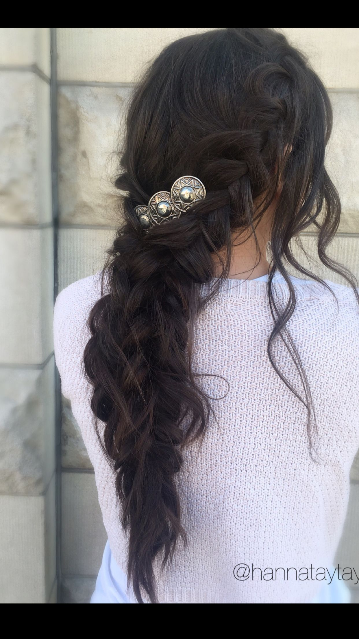 romantic braided boho wedding hairstyle bohemian festival
