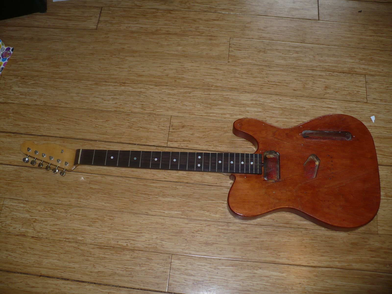 Neck on no wiring yet great friends telecaster give