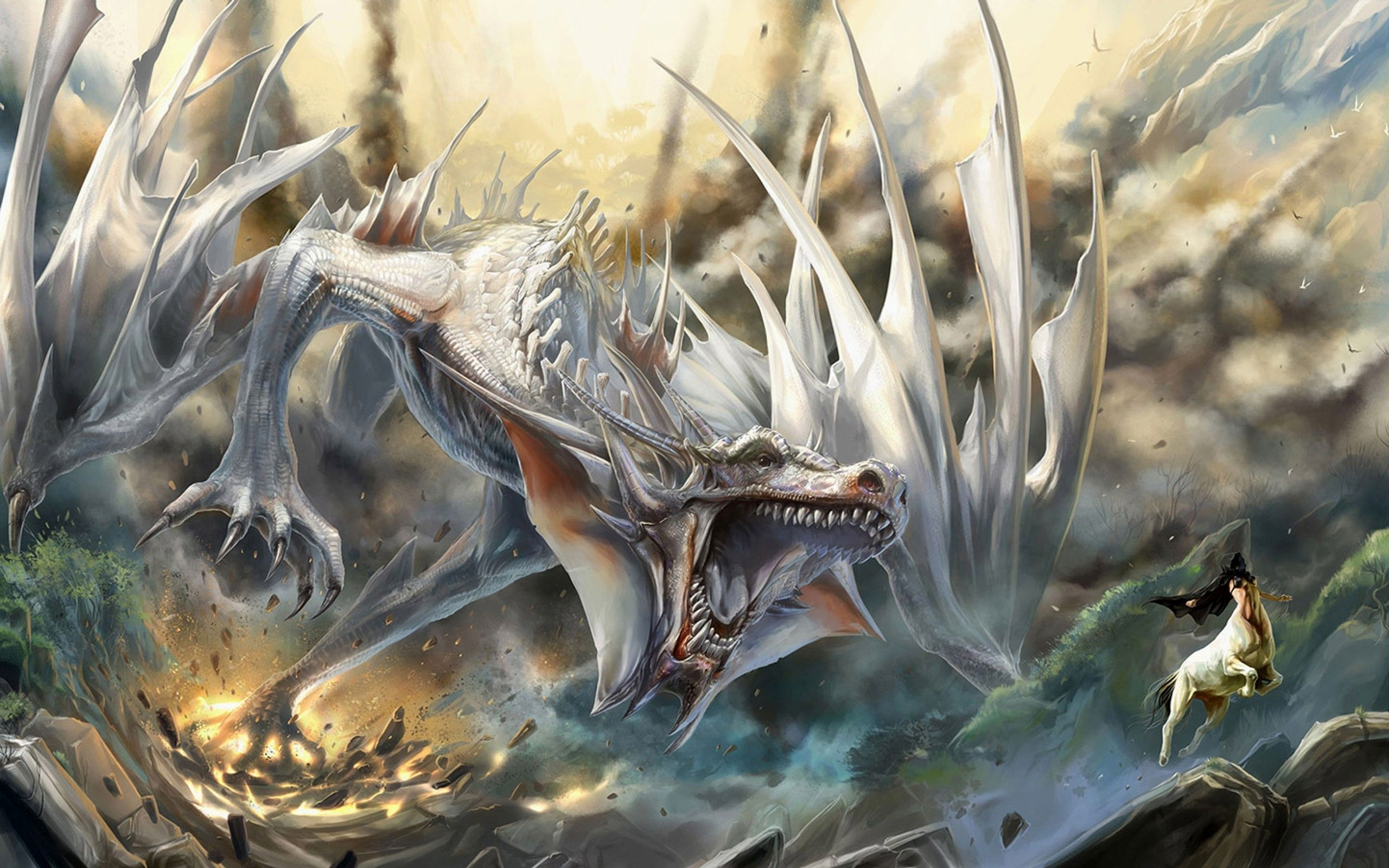 Download Hd Wallpapers Of 178727 Dragon Fantasy Art Free