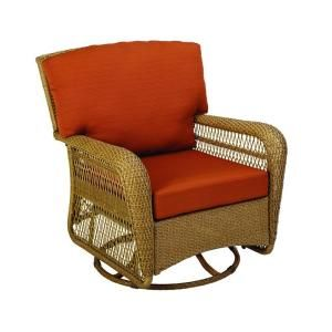 Martha Stewart Living Charlottetown Natural All Weather Wicker