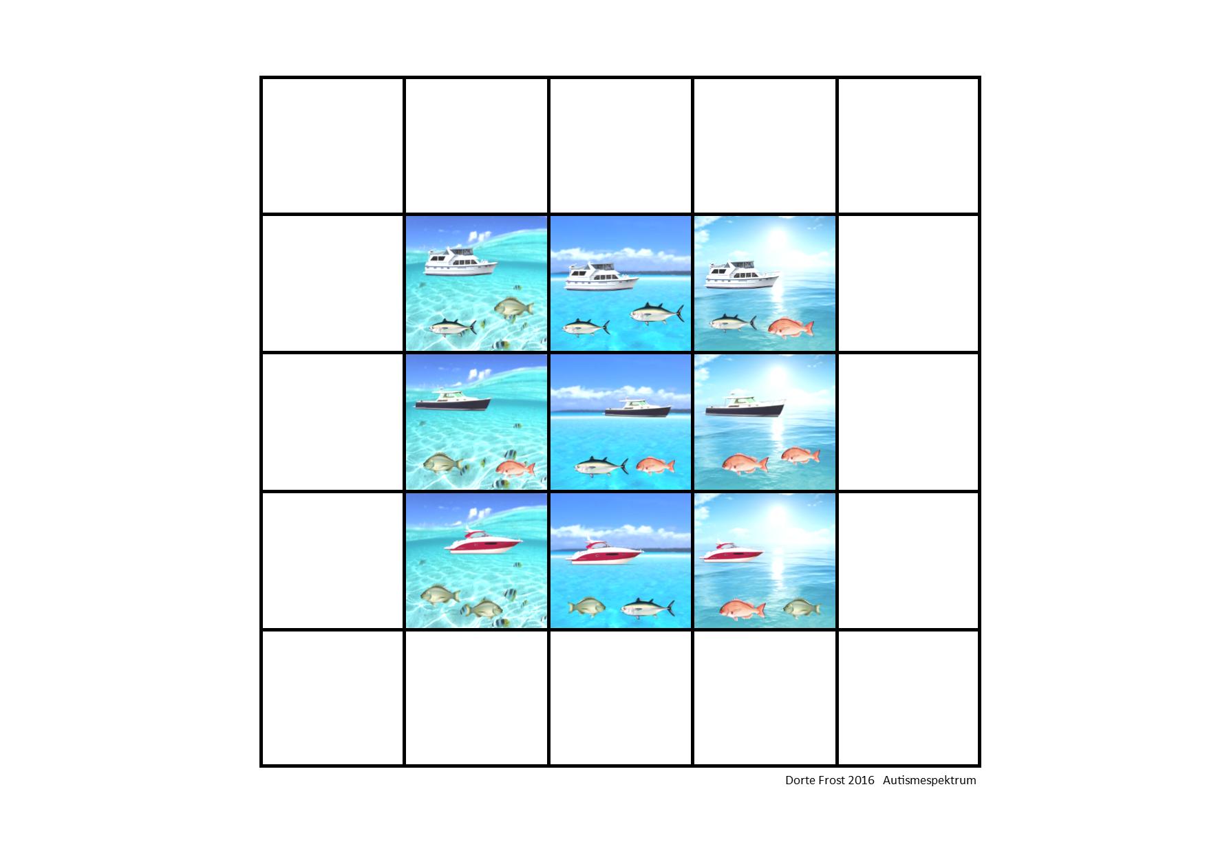 Tiles for the super matrix. Find the belonging board on ...