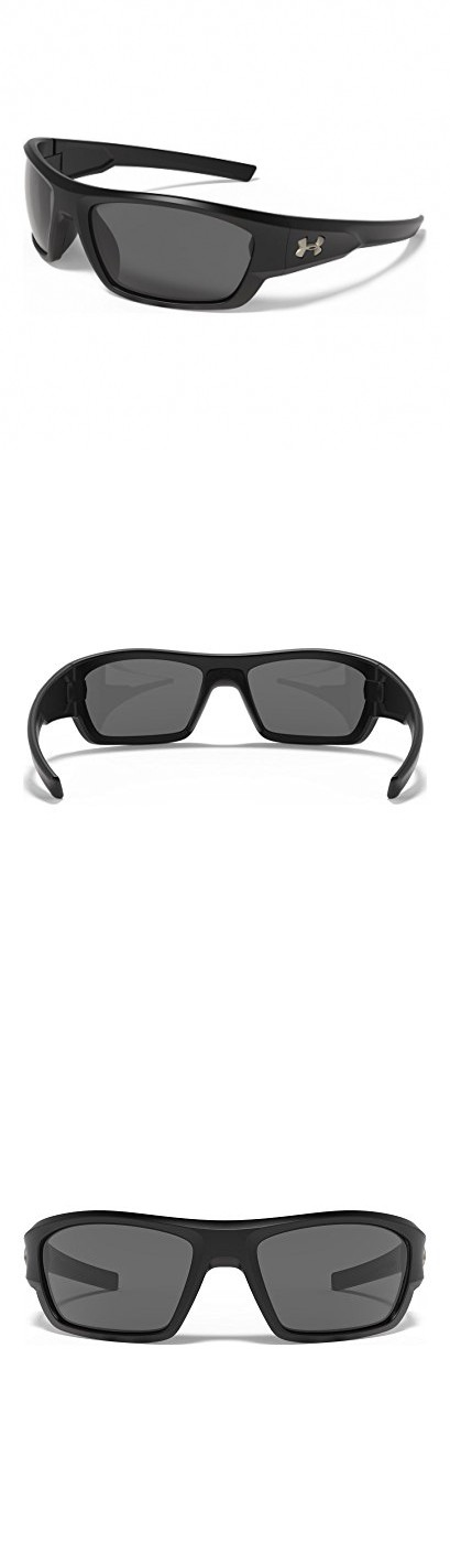 4f505cf7e6c9 Under Armour Force Storm 8630086-010108 Polarized Rectangular Sunglasses
