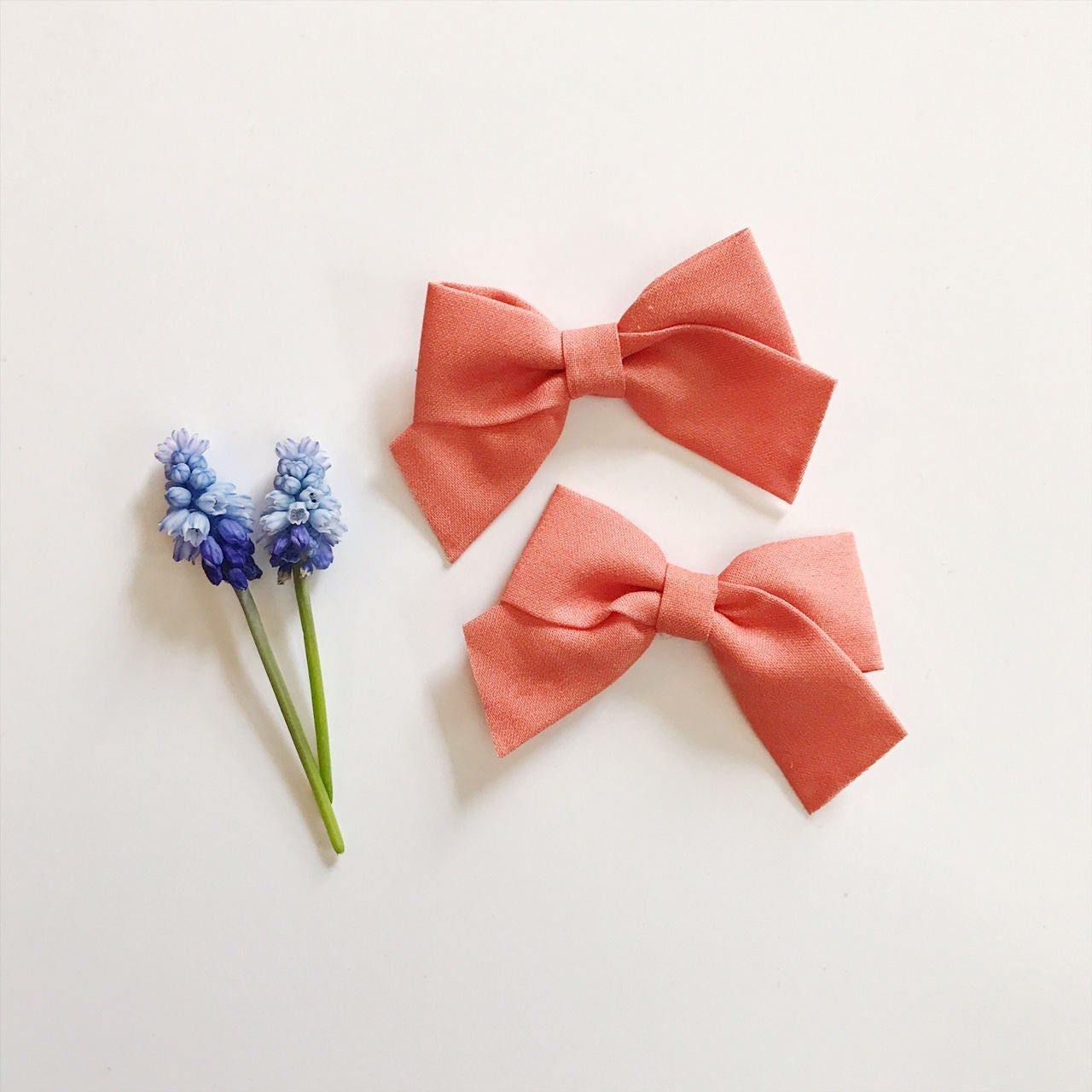 Handmade Bow Bullet Fabric Bow   Young Child Easter Headwrap Bow Babies Bow Liverpool Bow Toddler