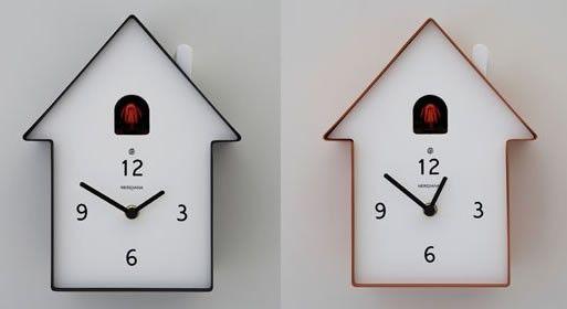 Birdhouse cuckoo clock — ACCESSORIES -- Better Living Through Design