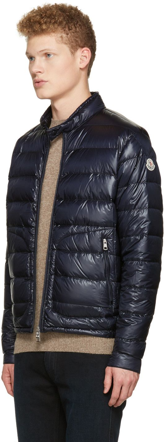 0065b8593 Mens Moncler Acorus Down Jacket Black esw-ecommerce.co.uk