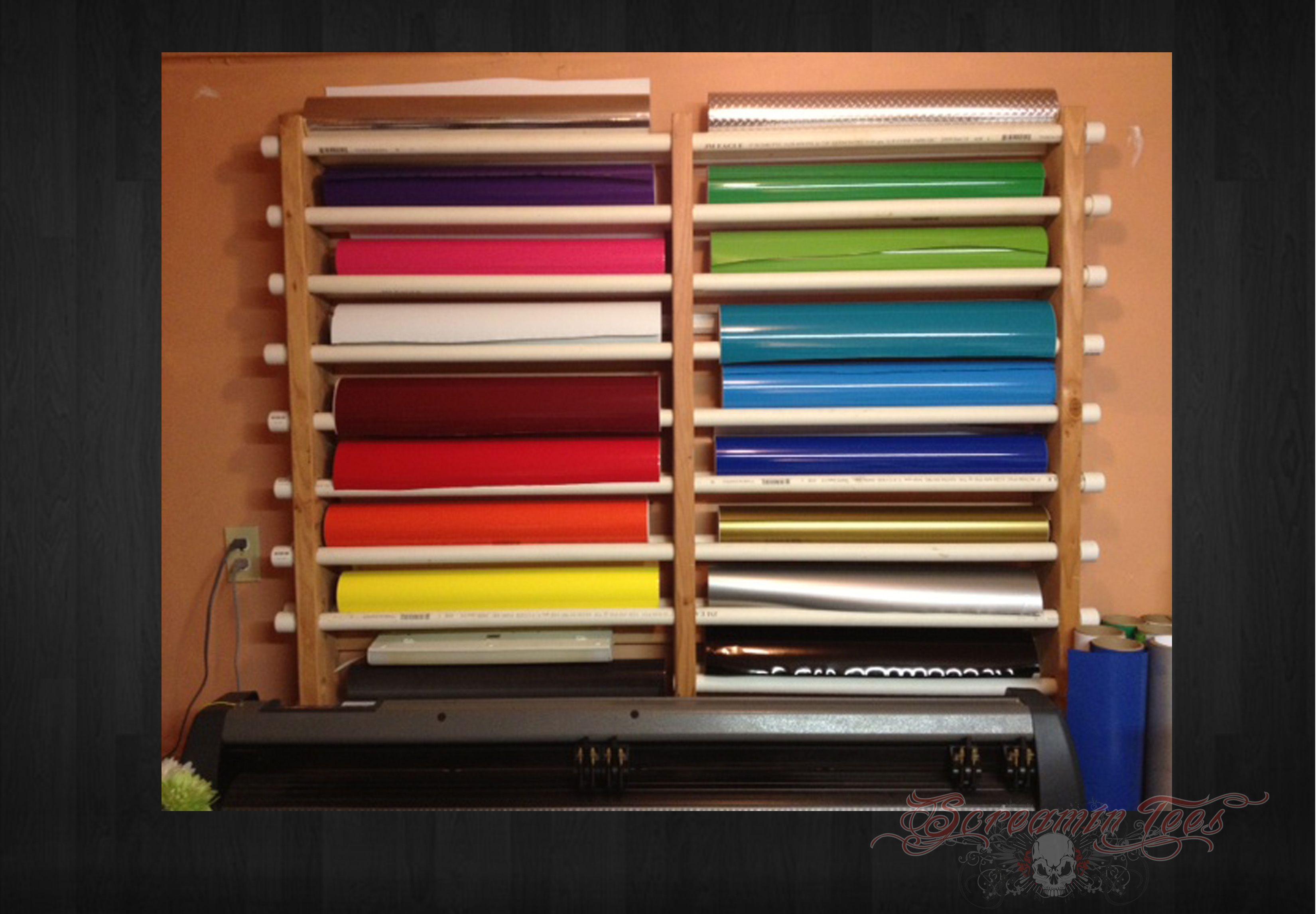 Look at this awesome diy vinyl rack great work best for Diy vinyl storage