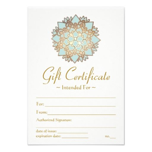 Pin On Business Gift Certificates