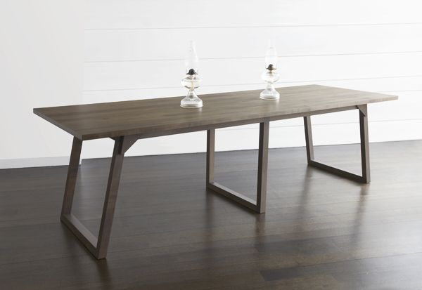 Narrow Dining Table   BELLBOY   Oxidised Maple, Bleached Maple, White Oak U0026  Black Part 86