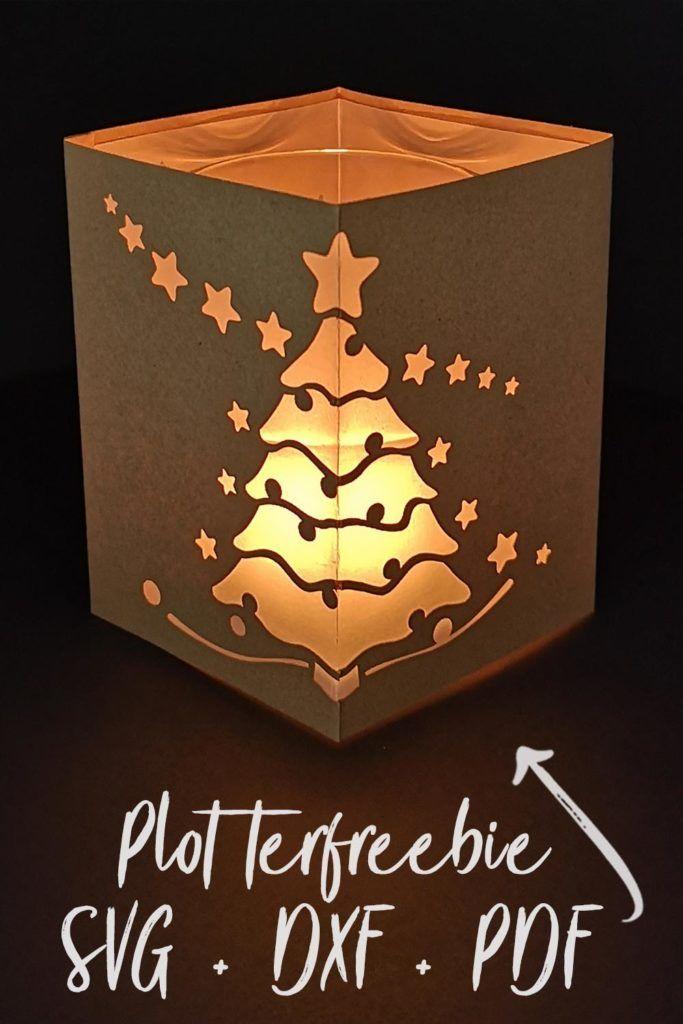 windlicht mit sternen weihnachtsbaum bastelvorlage. Black Bedroom Furniture Sets. Home Design Ideas