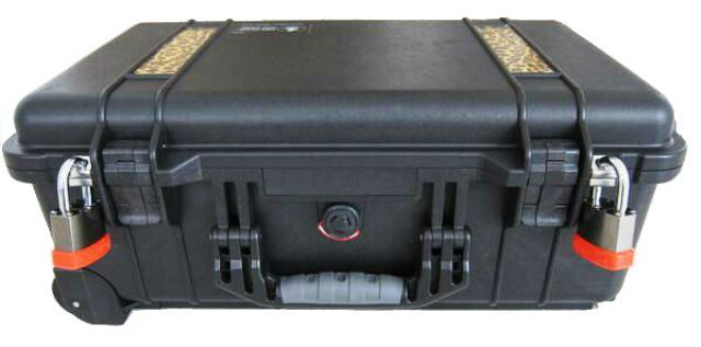 Commando Locks Fit Pelican Cases Perfectly And They Look Great Too Pelican Case Security Tools Electronic Products