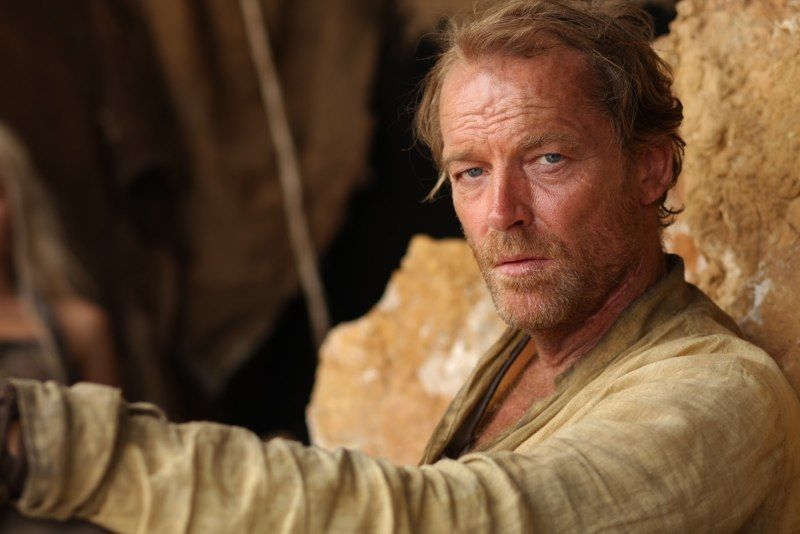 game of thrones jorah touched daenerys