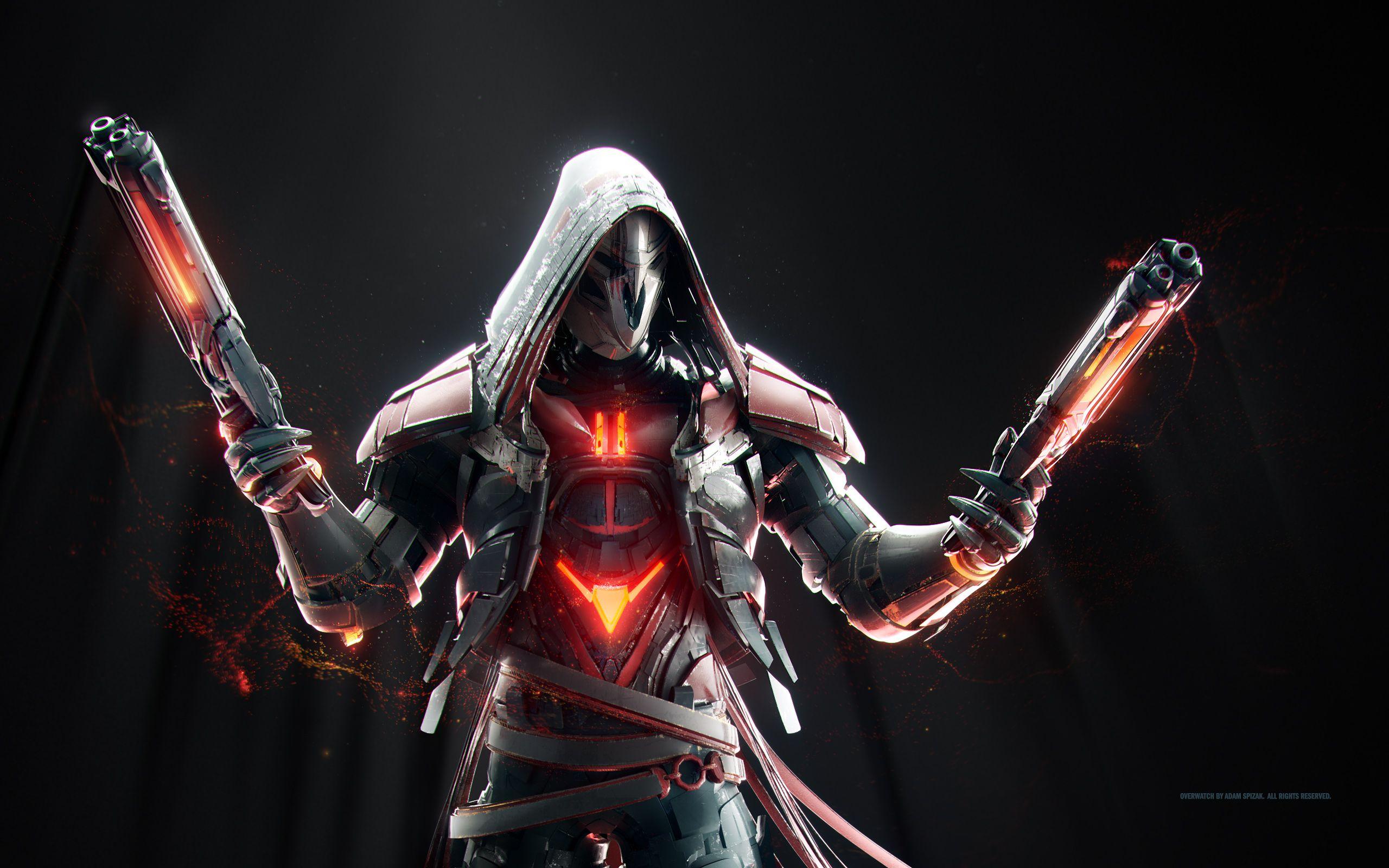 Resultado De Imagen Para Reaper Wallpaper Hd Overwatch