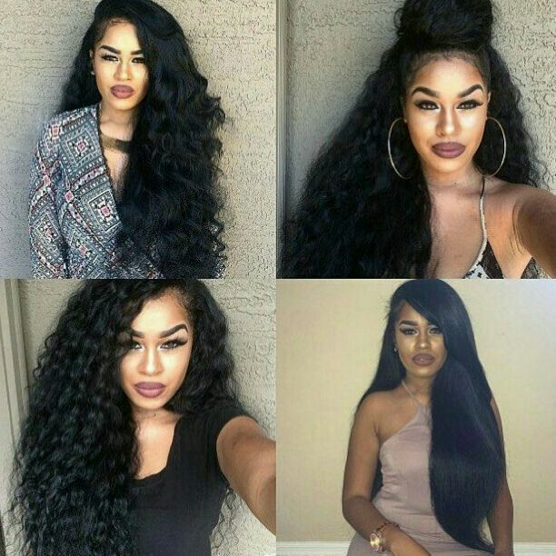 Black Full Head Clipin Extension 23 inches en 2019