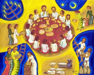 The Last Supper Hanna Cheriyan Varghese Last Supper Christian Art Last Supper Art