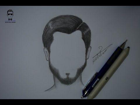 تعلم رسم الوجه بالرصاص للمبتدئين مع خطوات بسيطة Youtube How To Draw Hair Pencil Drawings Drawings