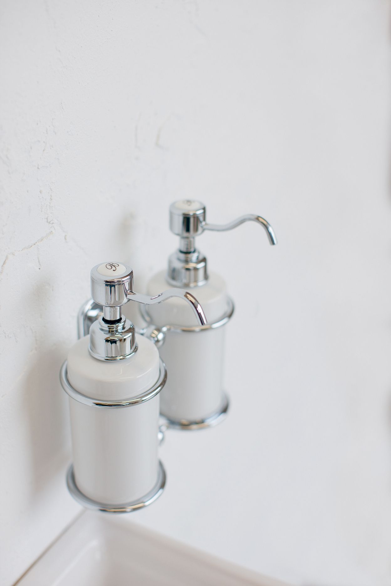 Double Soap Dispenser Badkamer Accessoires Badkamer Accessoires