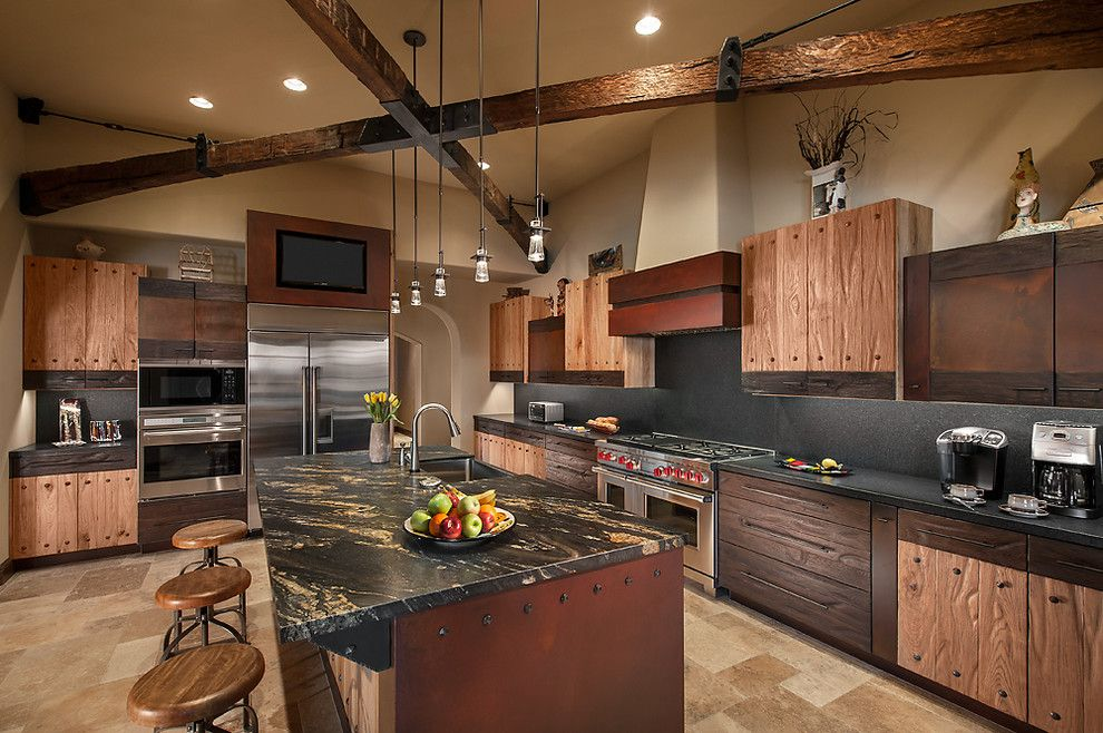 Rustic Kitchen Design Ideas  Rustic Kitchen Alluring Open Kitchens Designs Inspiration Design