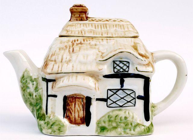 Cottage Tea Pot by mick / Lumix, via Flickr