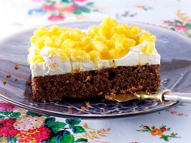 Mango Schoko Torte Schoko Sahne Torte Torten Lebensmittel Essen