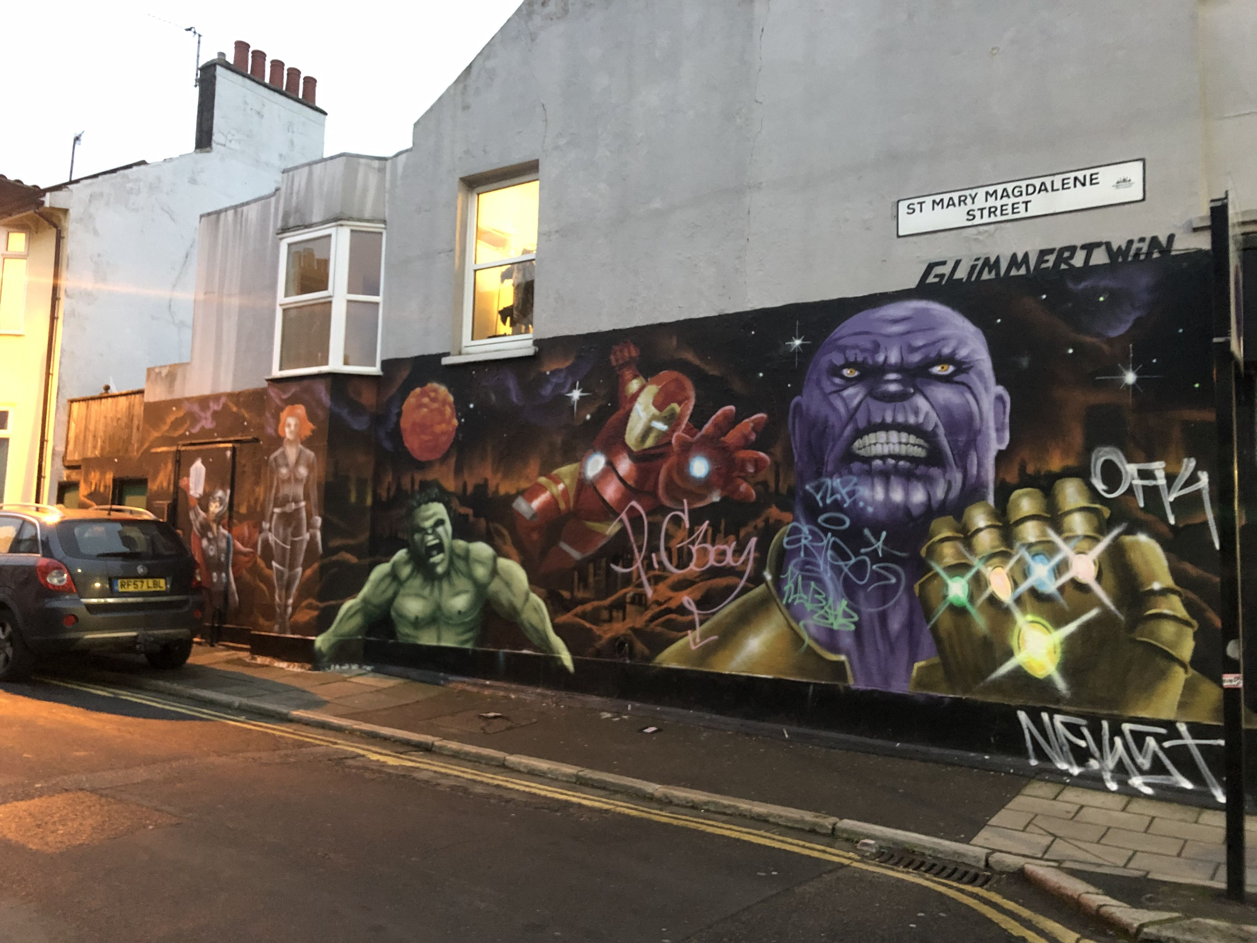 Thanos hulk iron man infinity war