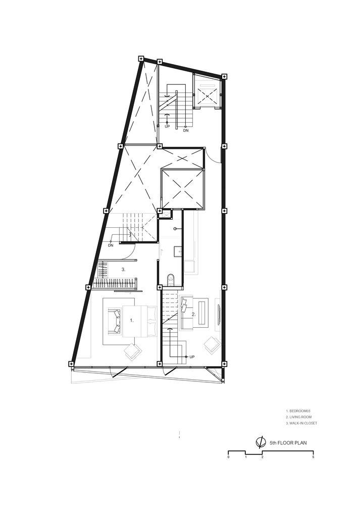 Gallery Of Siri House Idin Architects 49 Architectural House Plans Family House Plans Architect