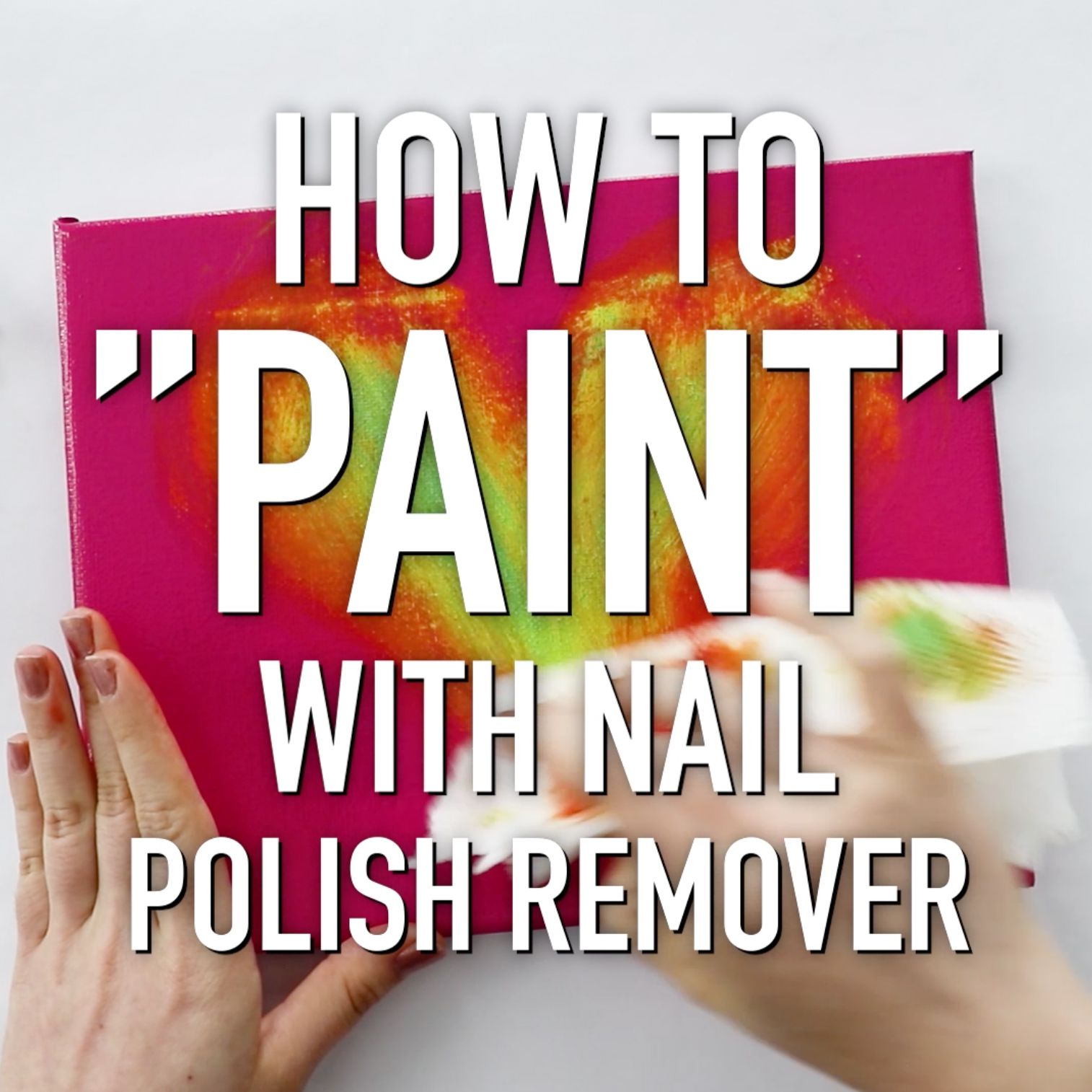 Photo of How to Paint With Nail Polish Remover ~ DIY Craft Hack – HGTV Handmade
