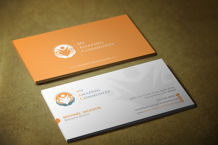 My Amazing Community Non Profit Business Card by sashadesigns | ad ...