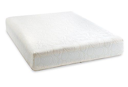 Purasleep 10 Inch Coolflow Memory Foam Mattress Made In The Usa