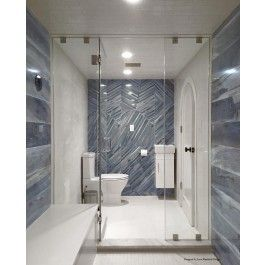 Brazilian Tiger Blue 8x48 Polished Porcelain Tile With Images