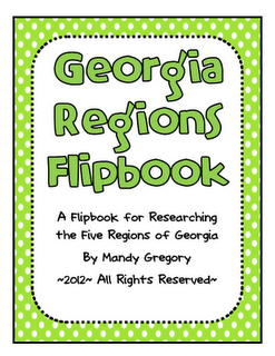 Mandy's Tips for Teachers: Five Regions of Georgia