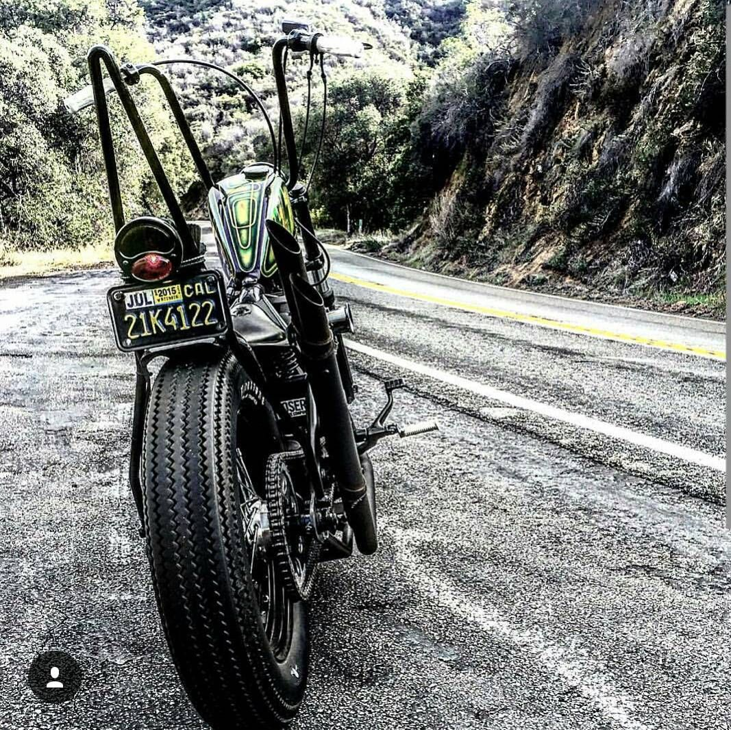 @unkle_bootsy owns this super gorgeous chop     Nothing but respect brotha    CHOP ON    #chopperunion #chopper #chop #chopperlife #choppershit #hardcorechopper #bobber #kustom #motorcycle #forevertwowheelsftw by chopper_union