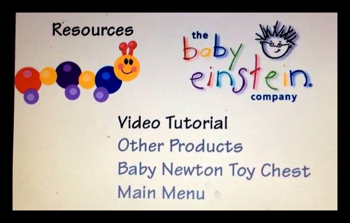 Baby newton DVD menu Fonfo de pantalla, Pantalla