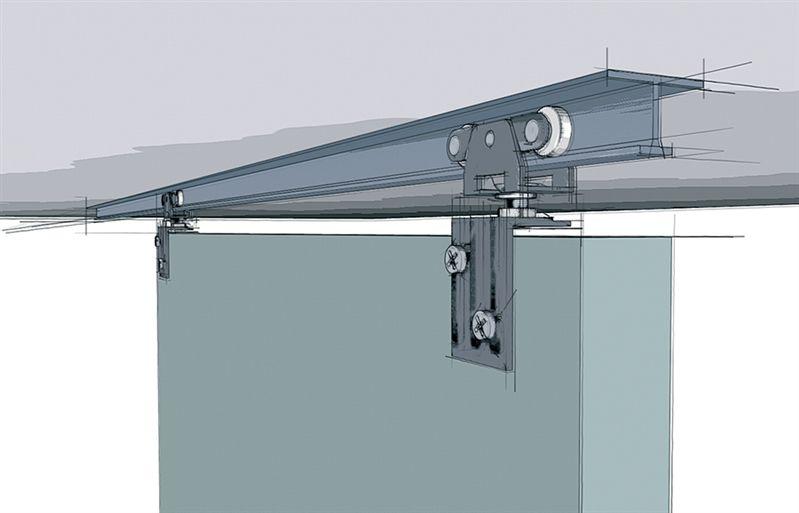 Hettich Top Line Grant 71 138 Hardware Set Interior Barn Doors Barn Door Sliding Door Track
