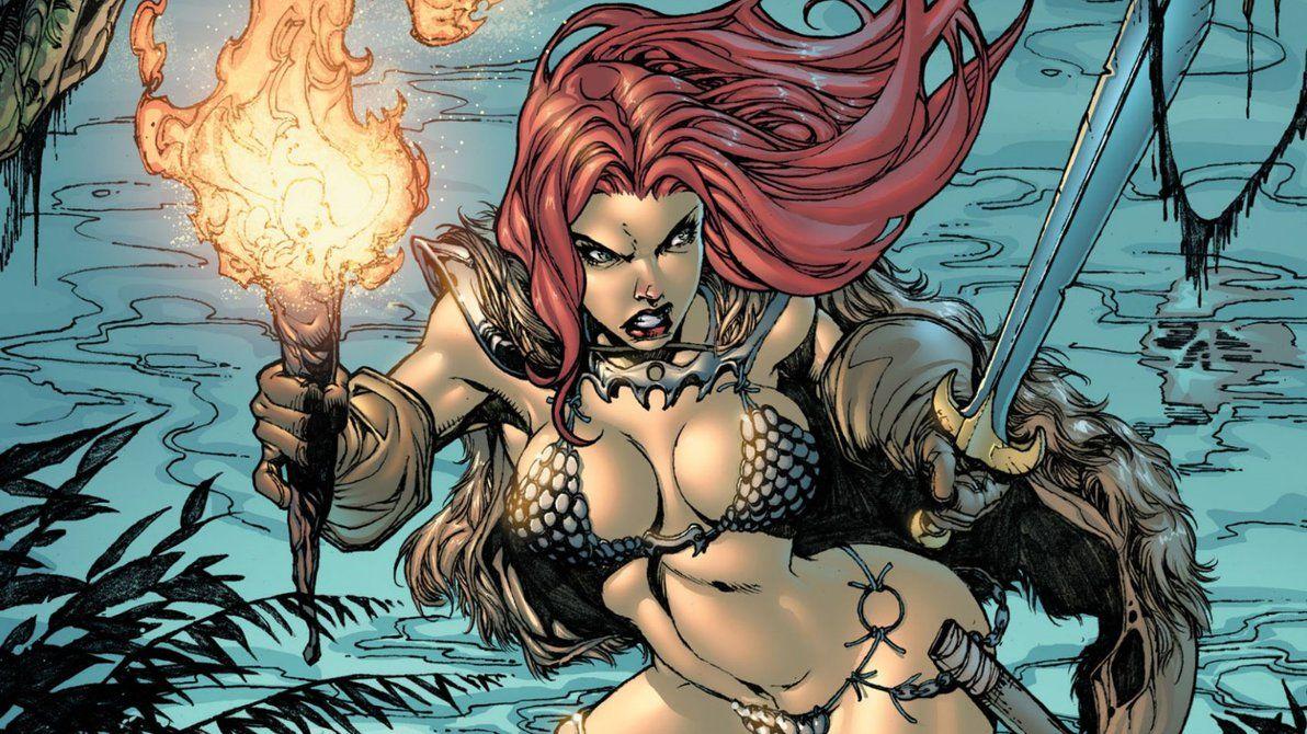 Red Sonja Wallpaper 7 By Vampirewiccan Red Sonja Comics Warrior Woman