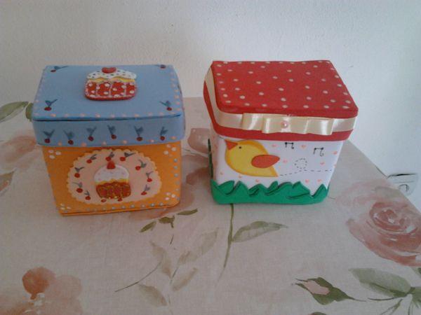 ARTESANATOS DA BEL: Bolsinhas feitas com caixa de Leite, ótimo para  lembrancinhas de festa