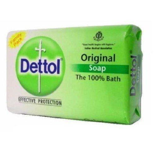 Dettol Original Soap India Large 120 Grams 12 Count By Dettol