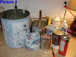 Alternative Heating Method - Coffee Can Heater