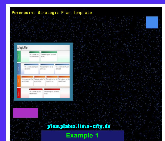 Powerpoint Strategic Plan Template Powerpoint Templates