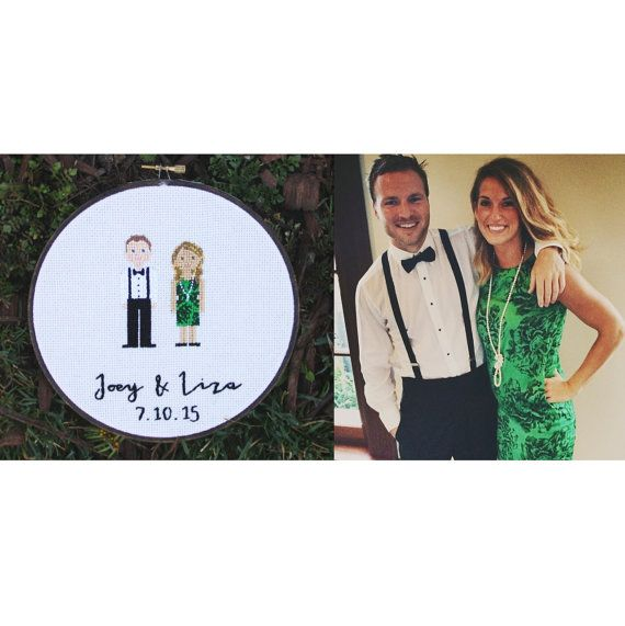 Capture your loved ones in a whimsical family portrait! A perfect gift for a special occasion, or decoration in your own home! These are each hand