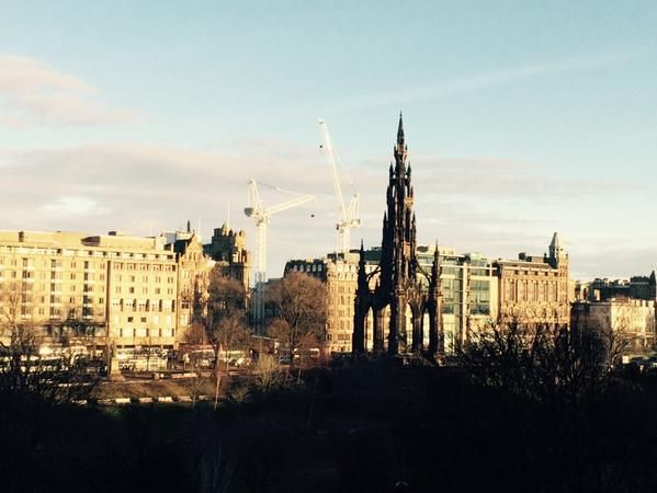 """Edinburgh Reporter on Twitter: """"Beautiful sights on the way to the Coty Chambers http://t.co/zgPelk17hl"""""""