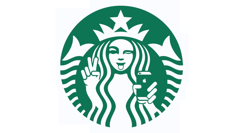 Starbucks Icons coolest starbucks logos ever Starbucks