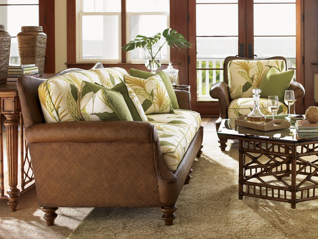 Hamilton Sofa, Tommy Bahama furniture  Decoración hogar, Hogar
