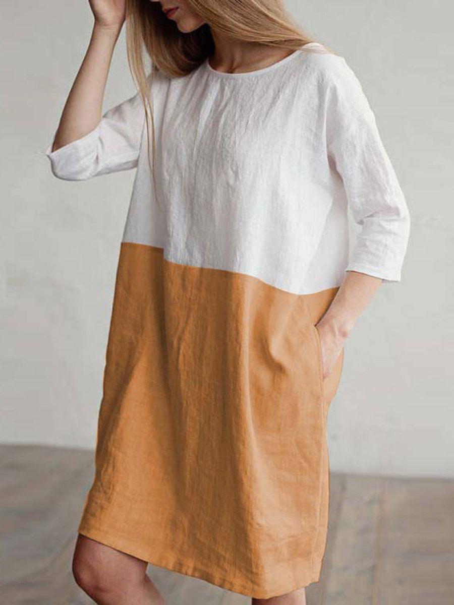 womens linen dresses uk