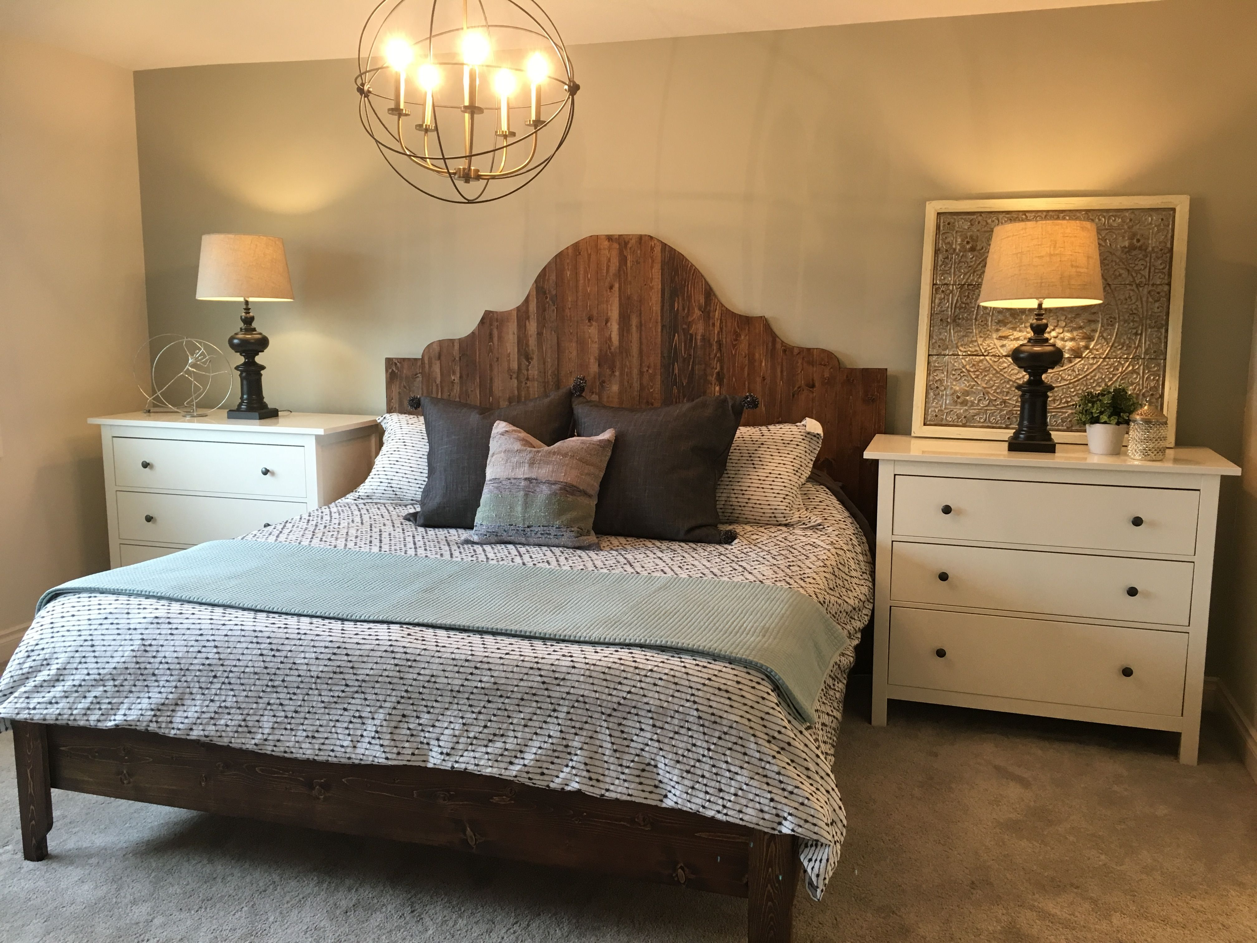 Diy projects for bedroom pinterest ana white  fancy arch king size  diy projects  decorating