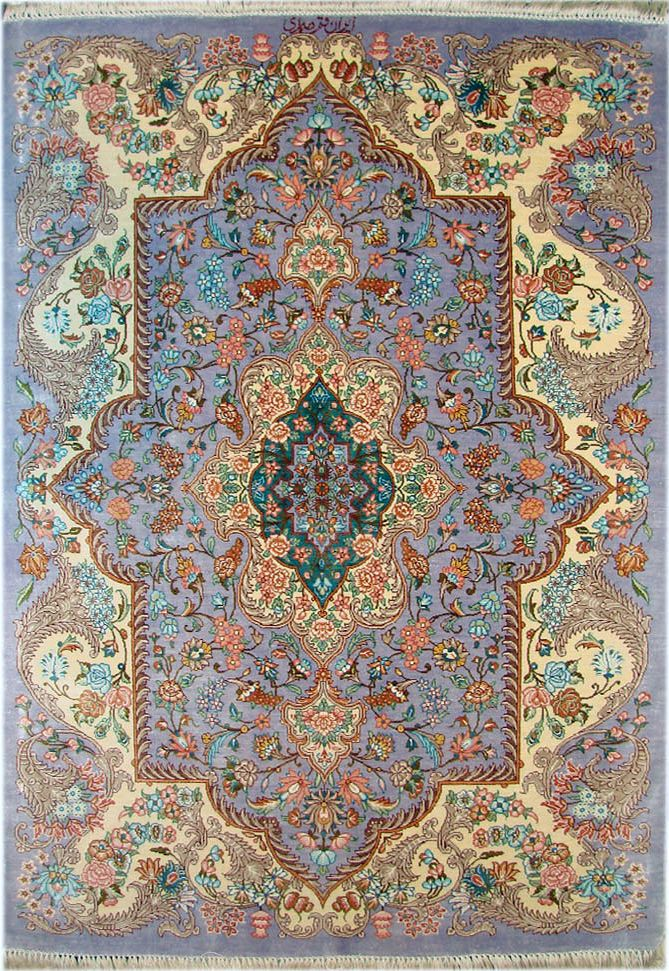 Qum Silk Persian Rug Item Cs Q5 Silk Persian Rugs Rugs On Carpet Rugs