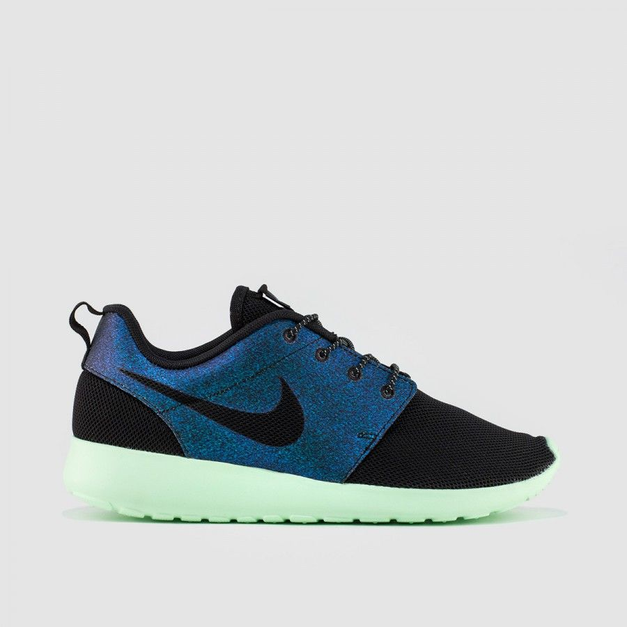 Black · Nike - Women's Nike Roshe Run WWC QS (Teal | Vapor Green ...