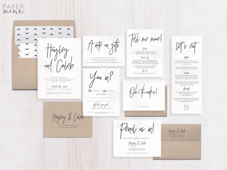 75 Fun Unique Wedding Invitations